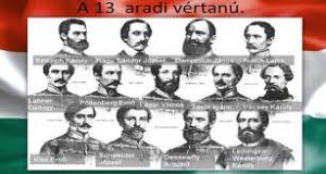 Aradi vértanúk emléknapja @ IKSZT-Faluház